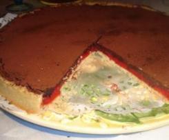 Tarte gourmande aux pralines et chocolat noir de Josy de lyon