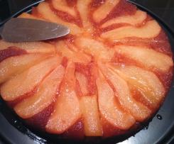 dessert aux poires et épices