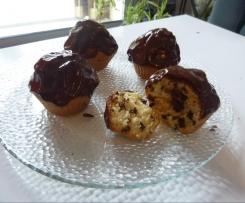 Cupcake aux pépites de chocolat