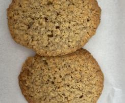 Variante Double galette aux flocons d'avoine et chococat comme à Ikéa ( Chokladflarn )