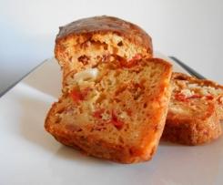cake chorizo feta poivron