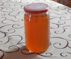 gelée de thé Earl Grey à l'abricot