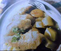 Aiguillettes de poulet aux épices et fruits secs