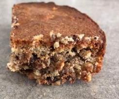 Gâteau noisettes amandes chocolat     (sans gluten sans lactose ni PLV )