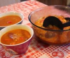 Soupe Cajun à la Jambalaya