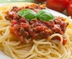 Spaghettis Bolognaise façon Gumsell