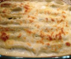 Cannelloni ricotta et épinard