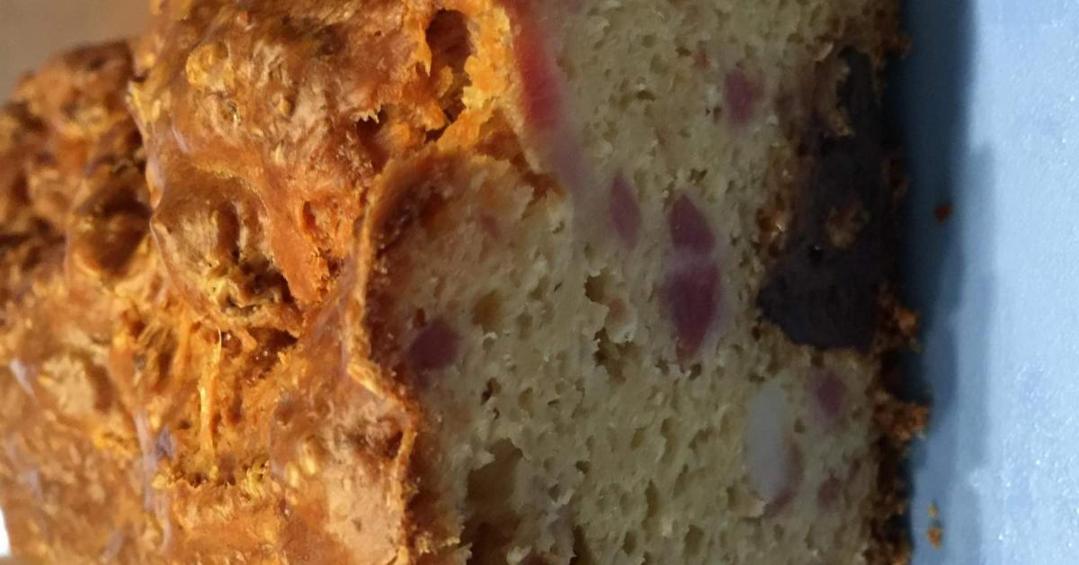 Cake Chorizo Et Lardons