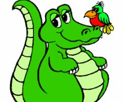 Soupe crocodile pour les enfants