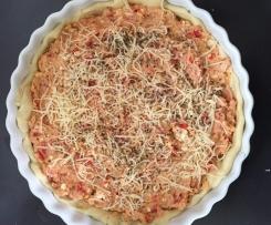 Tarte thon, tomates et feta