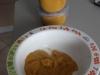 purée bébé butternut, pommes de terre, boeuf
