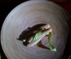 ficelles oignon-olive pour l'apéritif