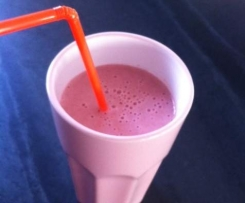 Smoothie fraise / banane, sans lactose