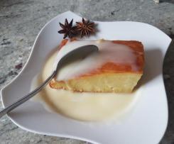 Fondant aux pommes et son caramel au beurre salé