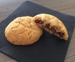 Biscuits fourrés au Nutella