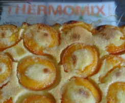 clafoutis aux abricots Thermomix