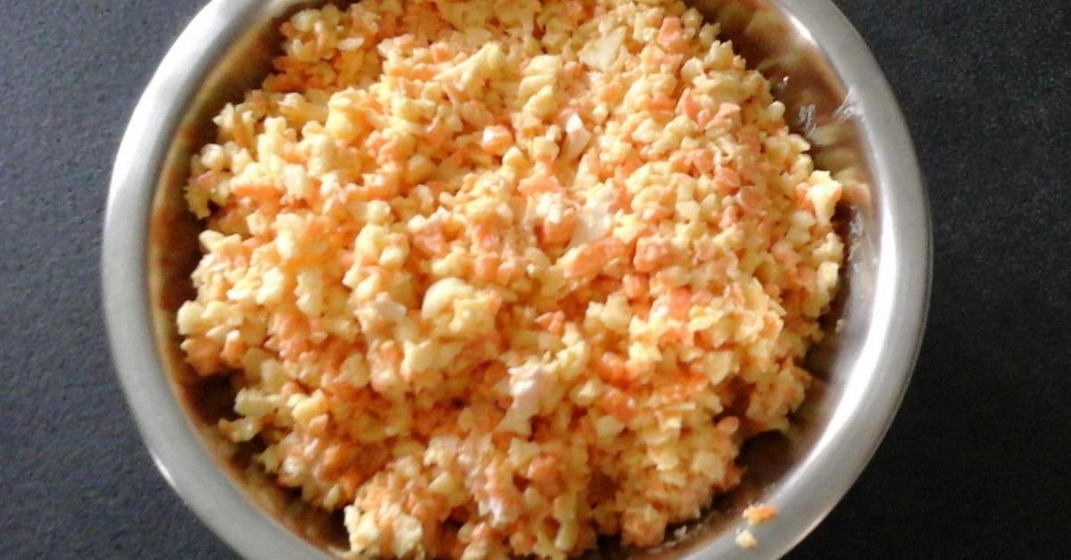 salade de carottes et c leri rave en sauce r moulade l g re par magjerem une recette de fan. Black Bedroom Furniture Sets. Home Design Ideas