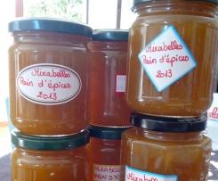 Confiture mirabelles/pain d'épices
