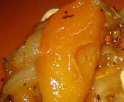 tajine aux abricot frais
