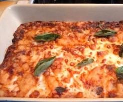 Lasagnes/aubergines/Ossau Iraty