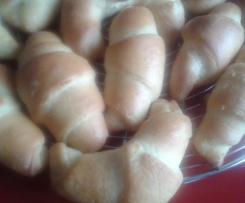Minis croissants au lait concentré
