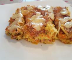 cannelloni carottes courgettes lardons sans béchamel