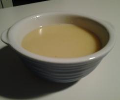 Soupe oignons et pomme de terre