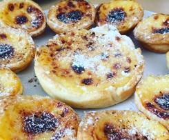 Pasteis de nata (flan portugais)