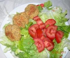 croquette au crabe, citronnelle et basilic