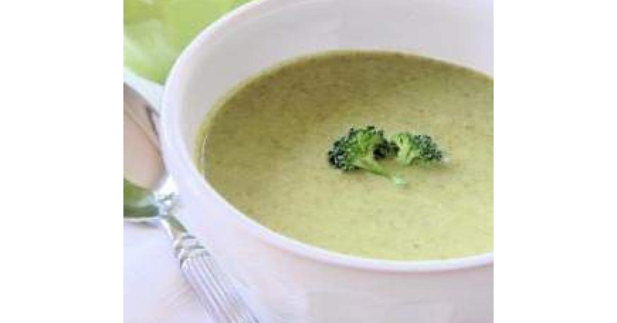 Velout de brocolis au kiri par naupi une recette de fan retrouver dans la cat gorie soupes - Veloute brocolis thermomix ...