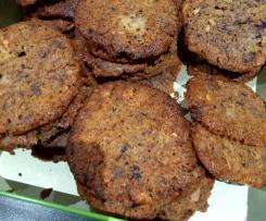 Cookies aux fruits rouges à la farine de maïs