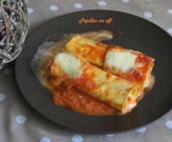 Cannellonis à la tomate et à la ricotta