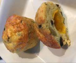 Mini-muffins aux olives light et moelleux