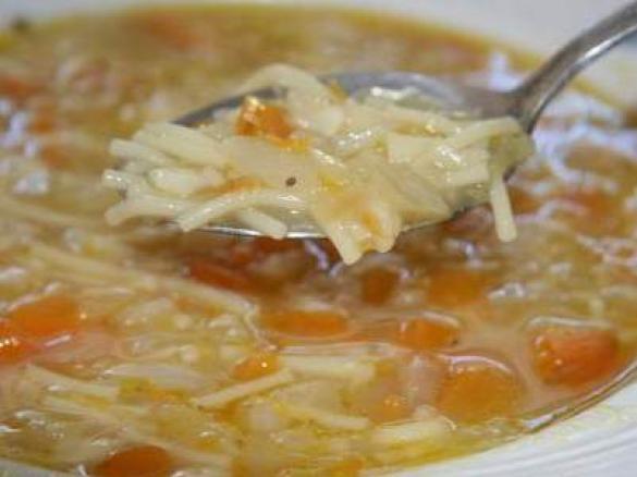 Soupe De Legumes Aux Vermicelles Par Aurore Bb Une Recette De Fan A