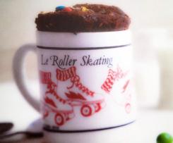 MUG CAKE - Nutella - M&M's