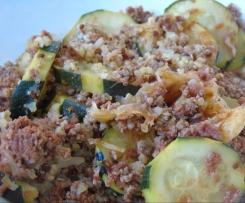 Gratin au Quinoa - Boeuf & Courgettes