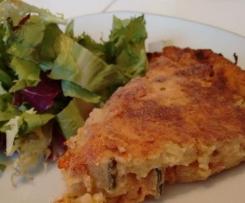 Quiche sans pâte à la provençale - méli mélo