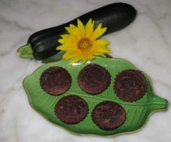 Muffins super light courgette/cacao/pomme/épices