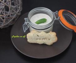 Tiramisu mojito (menthe, rhum et citron vert)