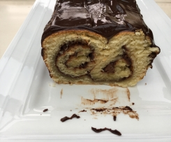 Cake Brioché Choco-Lait