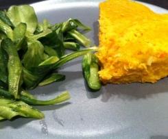 Terrine vegan à la farine de pois chiches et aux légumes