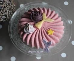 Entremets pistache framboises  – Sweet Table Anniversaire Sirène