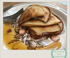 Pancakes légers et croustillants