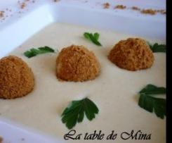 Crème du Barry glacée, aux bonbons de foie gras