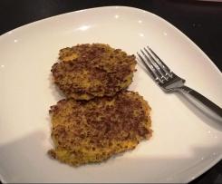 Galettes quinoa et légumes