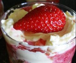 Tiramisu aux fraises (verrine)