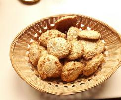 Petits gâteaux millet /noisettes