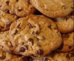 Cookies pralinés et pépites de chocolat