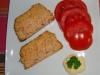 Terrine de thon et tomates fraiches
