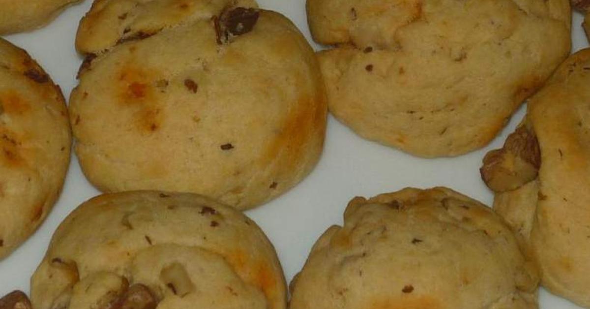 cookies chorizo noix et parmesan ap ritif par lucie b une recette de fan retrouver dans la. Black Bedroom Furniture Sets. Home Design Ideas